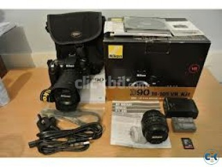 Nikon D90 Digital Camera with 18-135mm Lens... 520