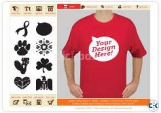 Make Your Own custom Design T-shirt By Z Style Fashions