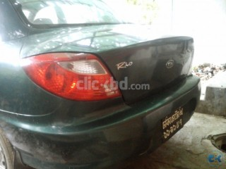 Kia Rio rs model 2001