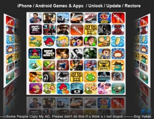 iPhone Android Games HD Unlock Jailbreak iTune account