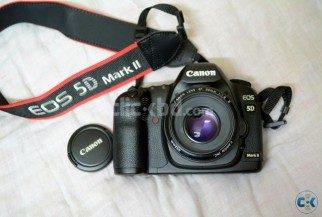Canon 5D Mark II 50mm 1.8 IS II 6 Month warranty
