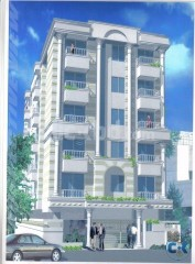 Nineteen flats Whole Building for sale at Nakhalpara.