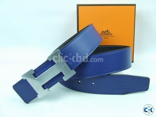 HERMES PARIS leather belt in various colour with a free al | ClickBD large image 2