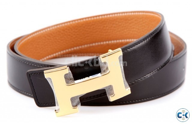 HERMES PARIS leather belt in various colour with a free al | ClickBD large image 3