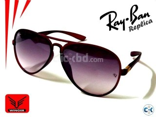 Ray-Ban TR Replica Aviator Sunglass 1 maroon
