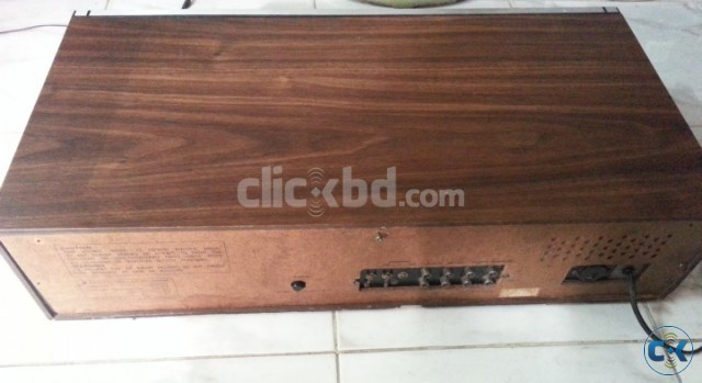 SANYO WOODEN BODY UV MITTER PURE VINTAGE AMPLIFIER JAPAN. | ClickBD large image 3