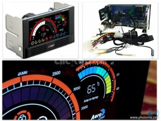 AEROCOOL V12XT Touch Panel HardwareTemperature Fan Control