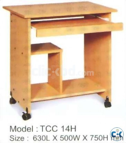 COMPUTER TABLE WOODEN COLOUR OTOBI