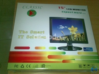 Classic Brand 15 Brand New LCD Monitor with 1 Year Warranty