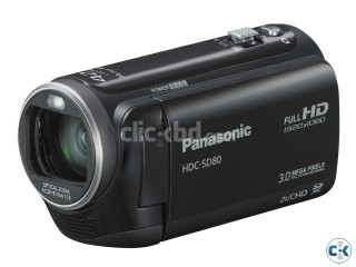 Panasonic SD80 Full HD Camcorder Black