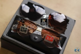 NEW RAY-BAN Aviator Flip Out