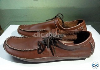 Man Loafers Genuine Leather Flats
