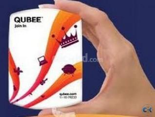 Qubee Prepaid Modem