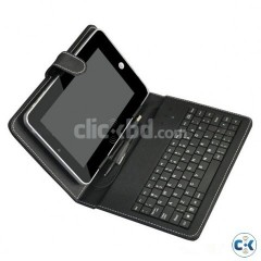 Tablet PC Keyboard with Leather Case
