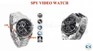 Spy Camera Hand Watch