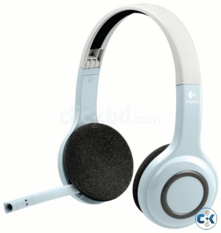 Logitech Wireless Headset H800 Clickbd