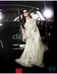 Zarine Khan Heavy Party Saree