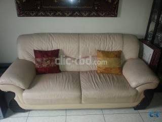 Exclusive Italian Leather Sofa Set