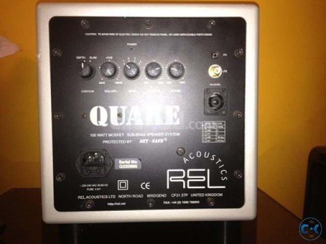 REL QUAKE 8 Subwoofer Made In UK. | ClickBD large image 0
