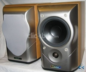 MISSION M51 SPEAKER WITH METAL STAND MADE IN UK
