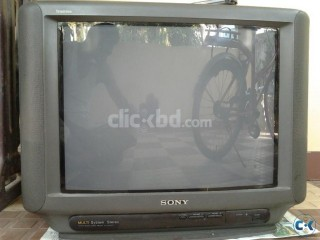 21 sony color tv tritorn