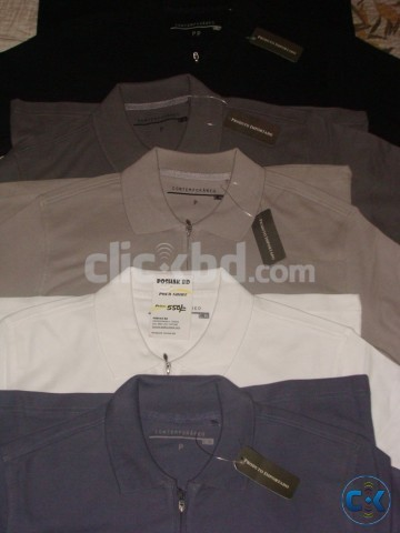 Original Zipper POLO from C H | ClickBD large image 0