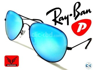 Ray-Ban Polarized flash Aviator Sunglasses Tarquish