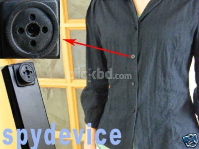 Audio Video Spy Button CAMERA WITH VIDEO | ClickBD large image 2