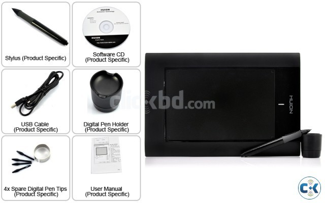 Huion 580 5 inch 8 inch professional Graphic Tablet | ClickBD