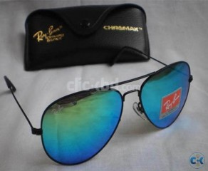 Ray Ban 3025 - 26 ALM Pacific Blue Mercury with Chromax Wall