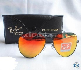 Ray Ban 3026 ALM FIRE with Chromax Driving Series Black Wall