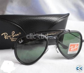 Ray Ban 3428 ALM Bottle Green with Bosch Lomb Hard Black Wal