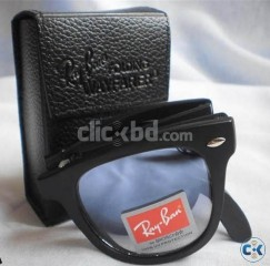 Ray Ban 4105 Folding Wayfarer Blue Shade