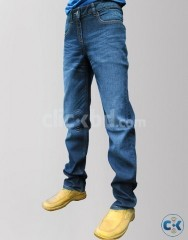 Men s Wrangler Blue Slim Fit Jeans Pants