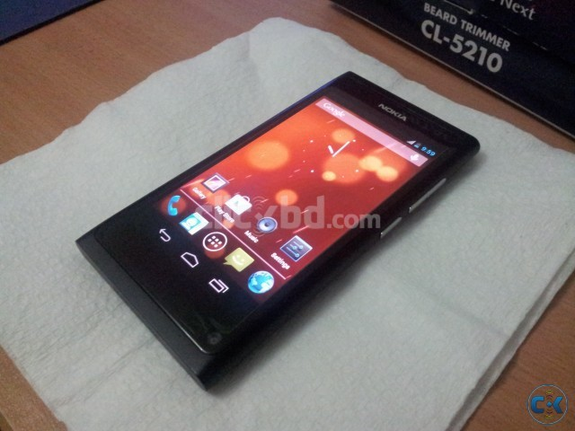 New Nokia N9 running Android 4 1 1 Jelly Bean See inside