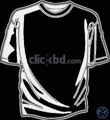 T-shirt logo design print