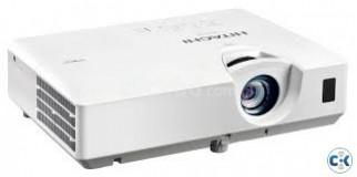 hitachi cp-ex 250 projector+ stand screen sale