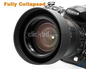 High Class Collapsible new Rubber Lens Hood