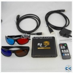 2D movies to 3D converter with HDMI 1.4 output