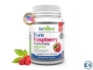 Lose Weight Naturally by Raspberry Ketones from USA