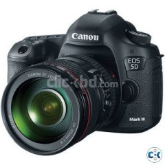Canon EOS 5D Mark III DSLR Camera Kit with Canon 24-105mm f