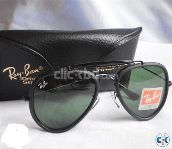 Ray Ban 3428 ALM Bottle Green with Bosch Lomb Hard Black Wal | ClickBD large image 0