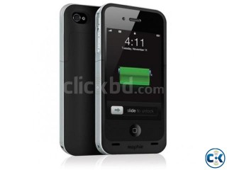 i phone 4S/4 battery case- mophie juice pack air