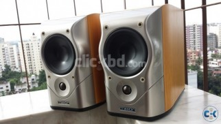 Mission M51 BookShelf Speaker With Stand Made In England
