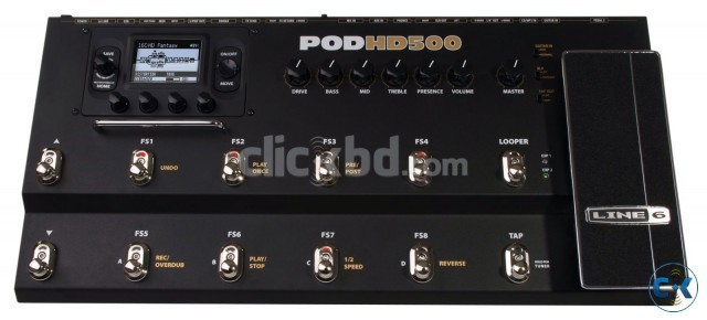 Line 6 POD HD 500 for sale Almost new 35 000 BDT. | ClickBD large image 0
