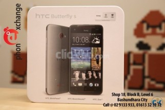HTC BUTTERFLY S 58 000 TK WE ACCEPT EXCHANGE OFFER