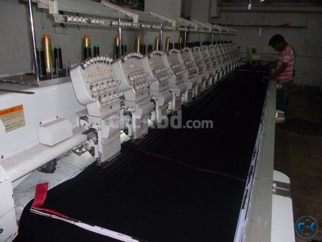 Computerized Embroidery Machine | ClickBD large image 0