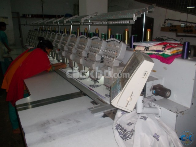 Computerized Embroidery Machine | ClickBD large image 1