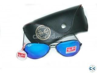 Ray Ban 3025 Ocean Blue fire Aviator Mercury Glasses