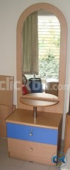 OTOBI dressing table with sitting stool